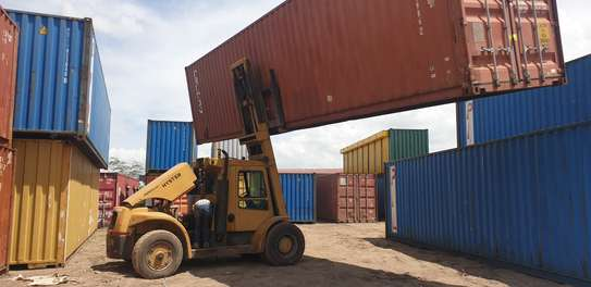 40ft Empty cargo containers for sale image 2