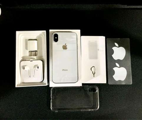 Apple Iphone X The 256 Gigabytes Silver Colour image 2