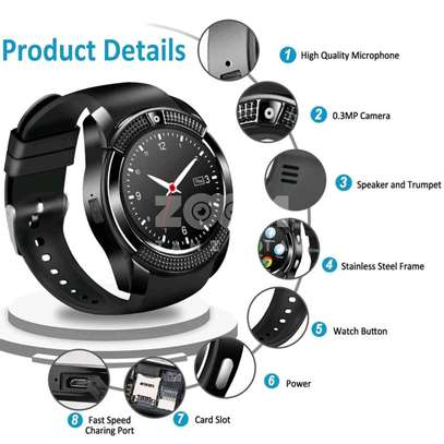 Smart Watch for Android and iOS Phone IP68 Waterproof, image 1