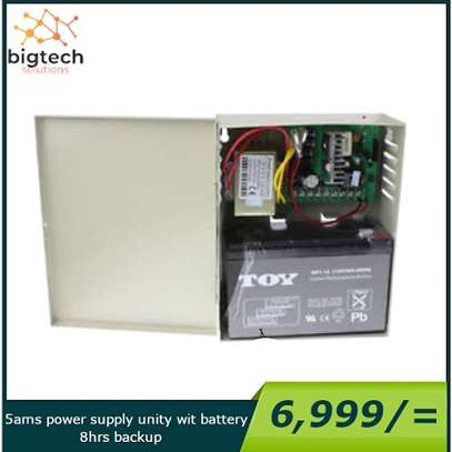 5amps WITH BACKUP battery for upto 8hrs image 1