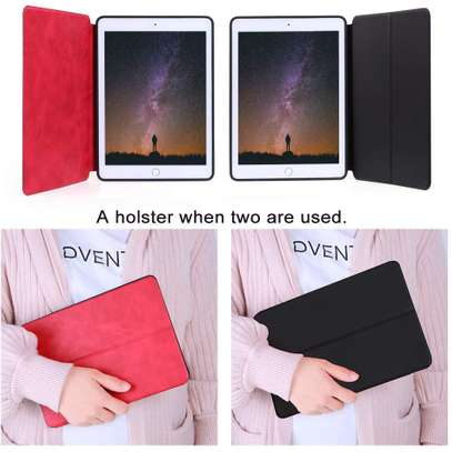 HDD Shuang Jie Series Two-Sided Leather Flip Case iPad Air 1/Air 2 / iPad 9.7 (2017 / 2018) image 4