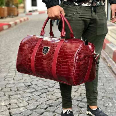 ITEM: *_Leather Duffle Bags._*???? image 3