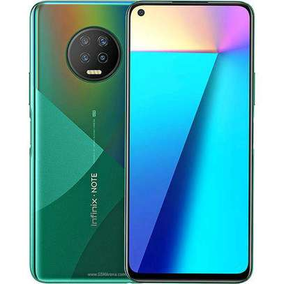 Infinix NOTE 7 Lite-Android 10.0, Non-removable Li-Po 5000 MAh Battery,forest Green image 2