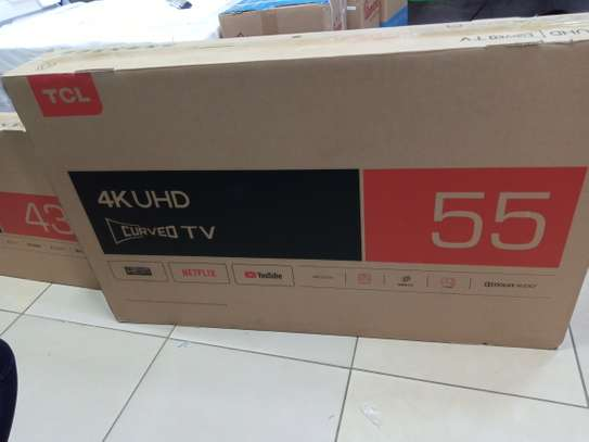 55 tcl curved 4k uhd tv image 1