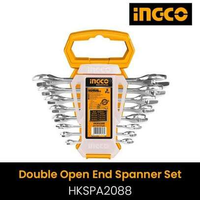 Double Open End Spanner Set- Ingco