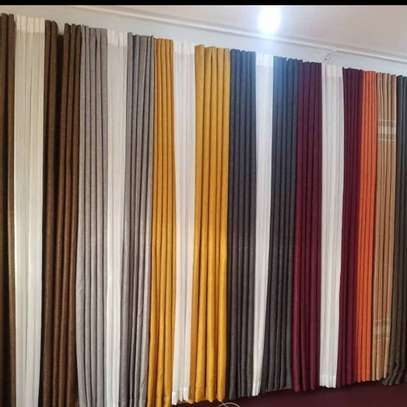 PLAIN SHEERS AND CURTAINS PER METER image 12