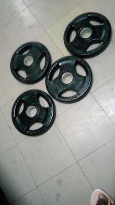 15kgs Olympic rubber plates