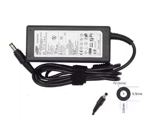 Samsung AC Adapter Charger 19V 3.16A 60W 5.5*3.0mm image 1