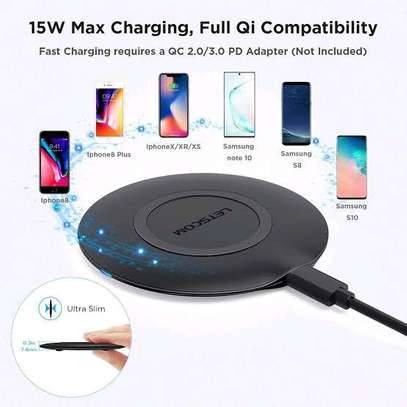 Wireless charger Qi Certified 15 watts image 1