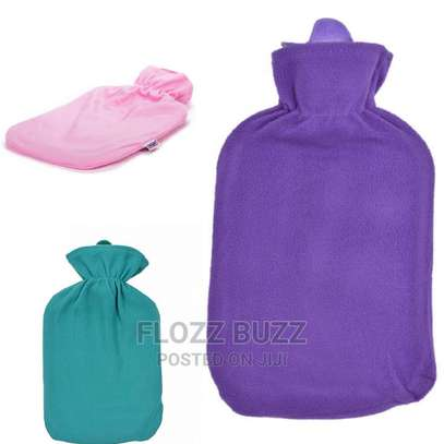 2L Large Hot Water Bottles With Cover image 3