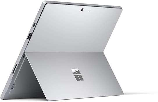 "NEW Microsoft Surface Pro 7 – 12.3"" Touch-Screen - 10th Gen Intel Core i5 - 8GB Memory - 128GB SSD (Latest Model) – Platinum image 2"