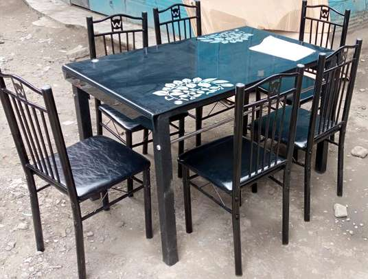 Novel design and beautiful appearance dining table image 1