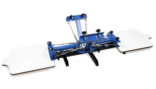 Brand New Four Color Two Station Silk Screen Printing Machine image 1