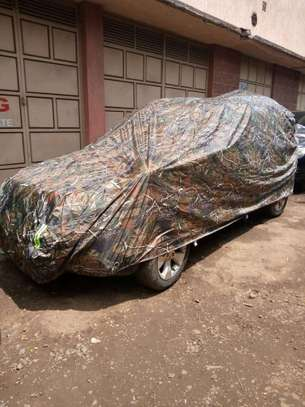 Custom-Made Waterproof Outdoor Car Dust, Sun and Rain Protective Covers image 4