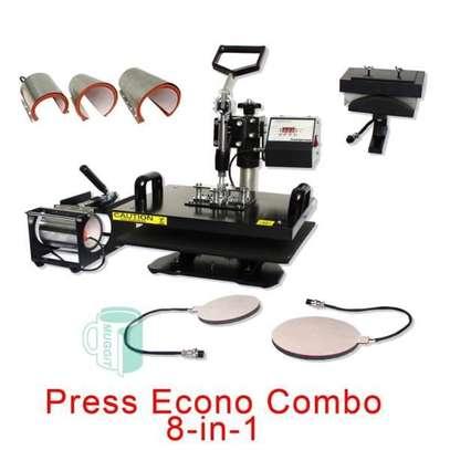 Heat Press Machine, Sublimation Pen Press Machine, Heat transfer Shoe Machine / Lids / Cup / Print / Phone image 1