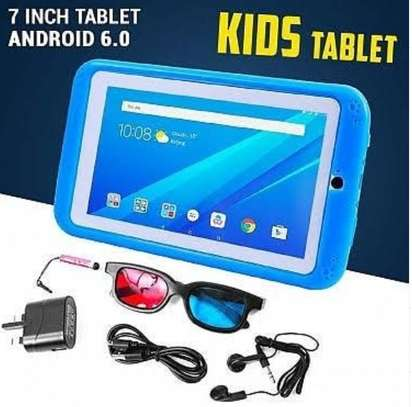 Kids tablet with 1gb ram,16gb internal memory and protective casing image 1