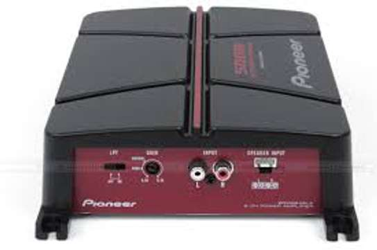 Pioneer GM-A3702 2 Channel Car Amplifier. image 1