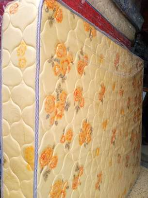 10inch thick King Size (6 by 6) Heavy Duty Quilted Mattresses. Free Home delivery. image 1