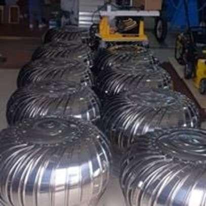 Cyclone Turbine Ventilators image 1