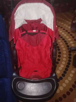 Baby bassinet and Stroller image 1