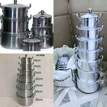 7pcs STAINLESS COOKWARE image 3