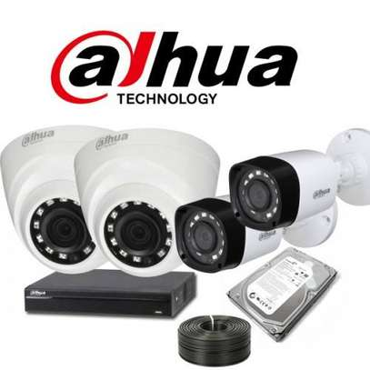 4 Channel CCTVs set image 1