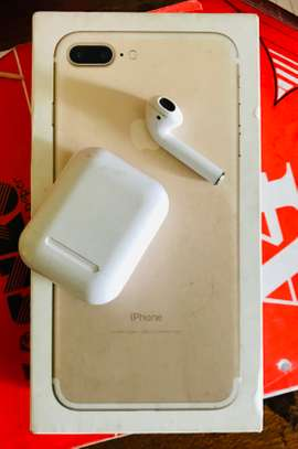 iphone 7plus 128Gb with free AirPods image 4