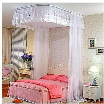 2 Stands Mosquito Net With Sliding Rails image 2