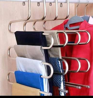 Trouser hangers and multiple hangers image 2