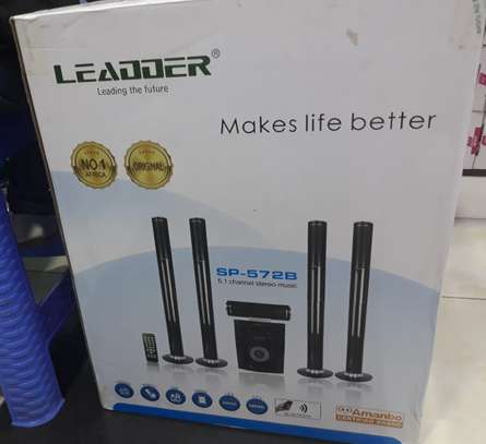 Leader home theatre system 1000watts output power image 2