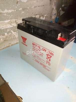 Yuasa 12v 17Ah battery suppliers in Kenya image 1