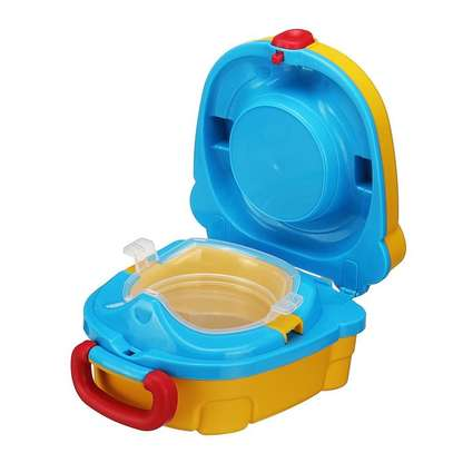 Portable Travel Potty Toilet Carry Seat Chair Toilet for Kids Baby Training image 2