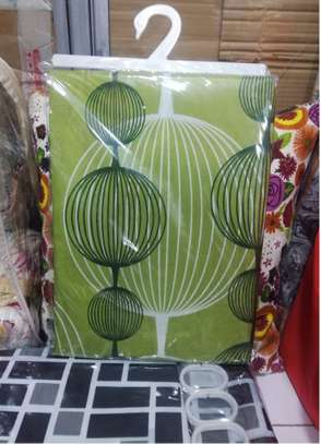 GREEN SHOWER CURTAINS image 2