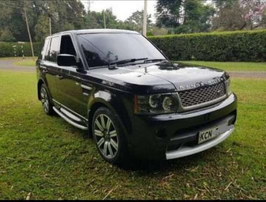Range Rover sports 50k per day chauffeured for hire image 1
