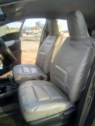 GREY CAR SEAT COVERS image 5