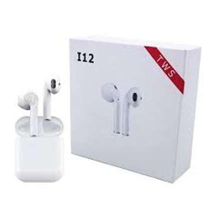 12 TWS Wireless Bluetooth Earphone image 1