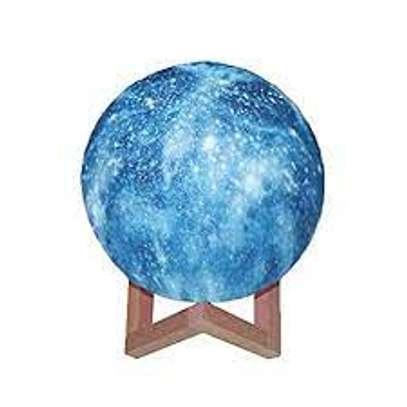 Moon Lamp Kids Night Light, 5.9 Inch Galaxy Lamp image 1
