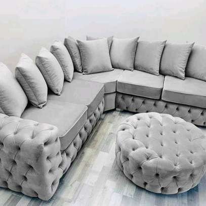 Five seater L shaped sofas for sale in Nairobi Kenya/Modern sofas for sale in Nairobi Kenya image 1