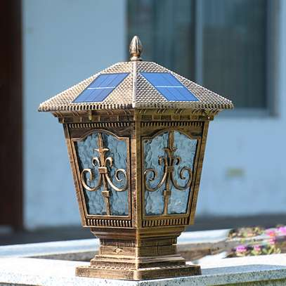 Solar gate light image 1