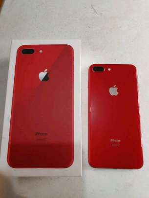 An Apple Iphone 8 Plus [ 256 Gigabytes Red ] image 1