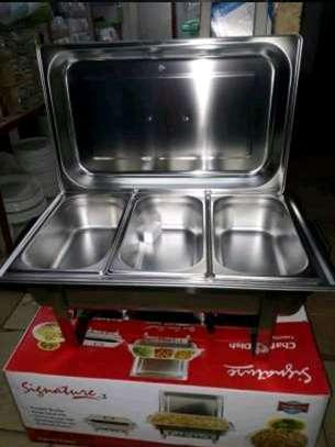 Chaffing dish/food warmer/cheffing dish/serving dish image 2