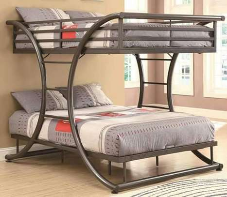 Metallic Double beds for sale.