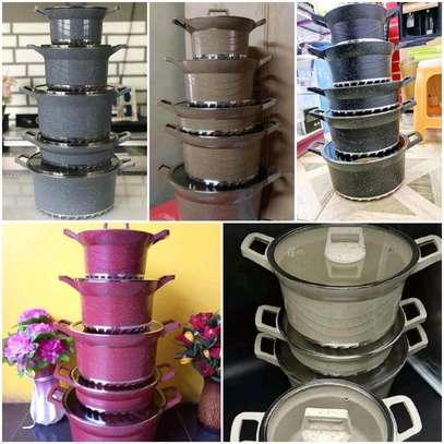 10pcs Bosch Granite Cookware Set image 1
