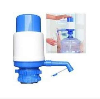 Hand press Water Bottle Pump, Easy Drinking Water Pump. image 2