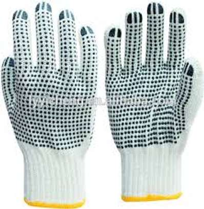 Cotton Dotted Gloves image 1
