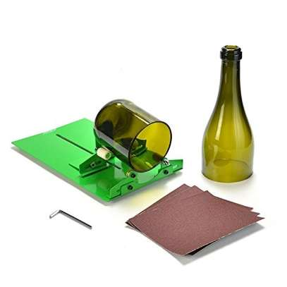 Long Bottle Cutter DIY Cutting Machine Wine Bottles and Beer Bottles Cutting Tool (Upgrade Version) image 1