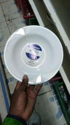 Luminar plates/6pc luminar plate/Dinner plate/Flowered plate image 8