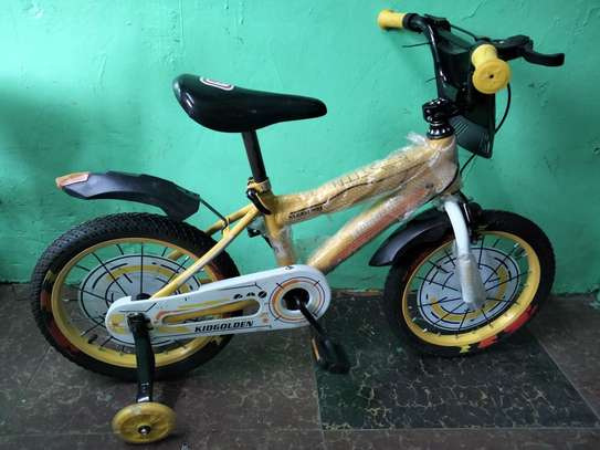 16inch kidsgolden bicycle for 4yrs to 7yrs kids image 1