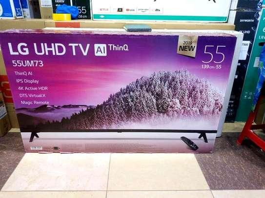 55 inch LG smart UHD 4K televisions 2020 model image 1
