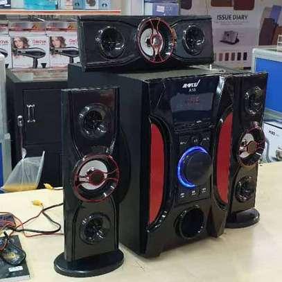 Ampex A18 3.1 Channel 12000 Watts Multimedia Speaker System-Black image 2